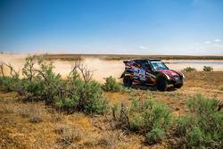 #110 Land Rover Range Rover: Andrey Rudskoy, Evgenii Zagorodniuk