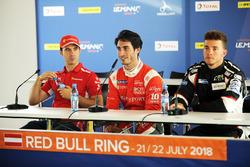 LMP2 ganador de la pole Paul-Loup Chatin, IDEC Sport Racing, LMP3 ganador de la poleMikkel Jensen, AT Racing, GTE ganador de la pole Miguel Molina, JMW Motorsport