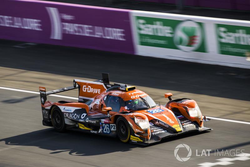 3. LMP2: #26 G-Drive Racing, Oreca 07 Gibson