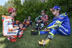 Marc Marquez, Repsol Honda Team, Pol Espargaro, Red Bull KTM Factory Racing, Aleix Espargaro, Aprilia Racing Team Gresini, Alex Rins, Team Suzuki MotoGP