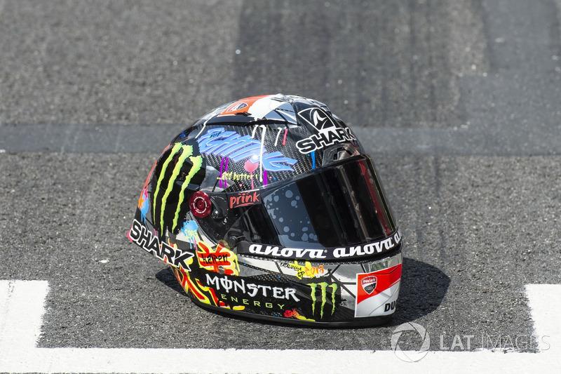 Helmet of Jorge Lorenzo, Ducati Team
