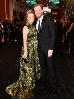 Dale Earnhardt Jr. and his wife Amy