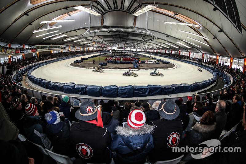 Предпоследний этап Ice Speedway Gladiators-2018 проходил на «Макс Айхер Арене» в немецком Инцелле