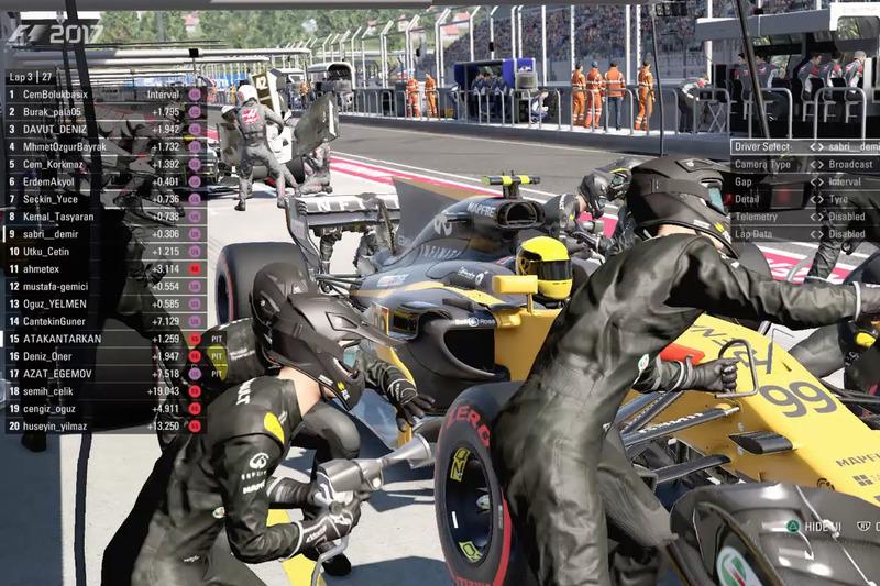 Atakan Tarkan Renault F1