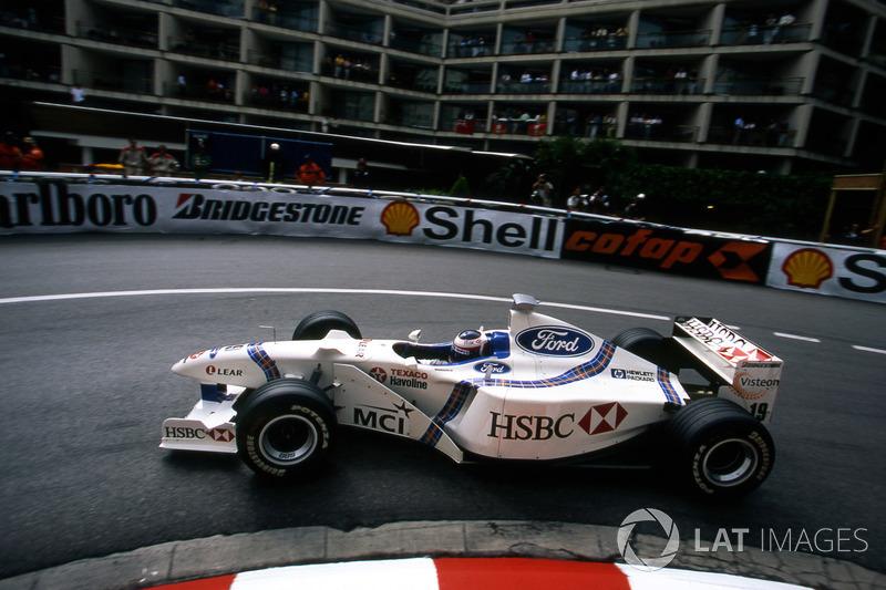 Ян Магнуссен, Stewart GP (1 очко)