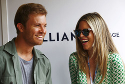 Nico Rosberg ve eşi Vivian Sibold