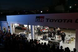 Le parc d'assistance Toyota Gazoo Racing