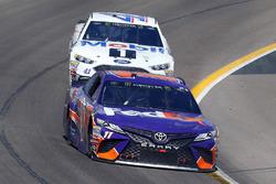 Denny Hamlin, Joe Gibbs Racing, Toyota Camry FedEx Freight, Kurt Busch, Stewart-Haas Racing, Ford Fu