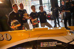 Frits van Eerd, Giedo van der Garde, Jan Lammers and Nyck de Vries, Racing Team Nederland