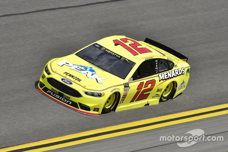 #12: Ryan Blaney, Team Penske, Ford Fusion