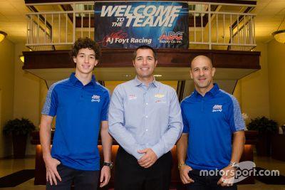 Tony Kanaan A.J. Foyt Racing announcement
