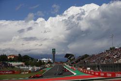 Sebastian Vettel, Ferrari SF71H, Valtteri Bottas, Mercedes AMG F1 W09, Kimi Raikkonen, Ferrari SF71H, Max Verstappen, Red Bull Racing RB14