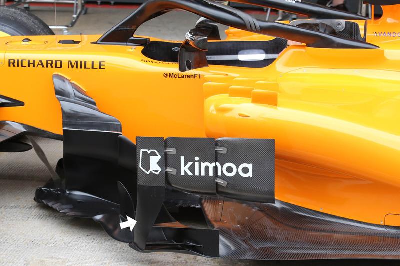 Дефлектор McLaren MCL33