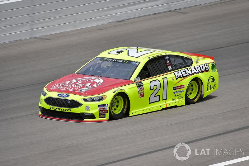 11. Paul Menard, Wood Brothers Racing, Ford Fusion Menards / Atlas