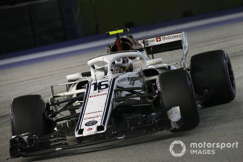 9e : Charles Leclerc (Alfa Romeo Sauber)