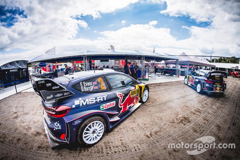 Elfyn Evans, Daniel Barritt, Ford Fiesta WRC, M-Sport Ford