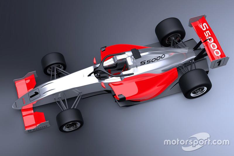 S5000 car rendering