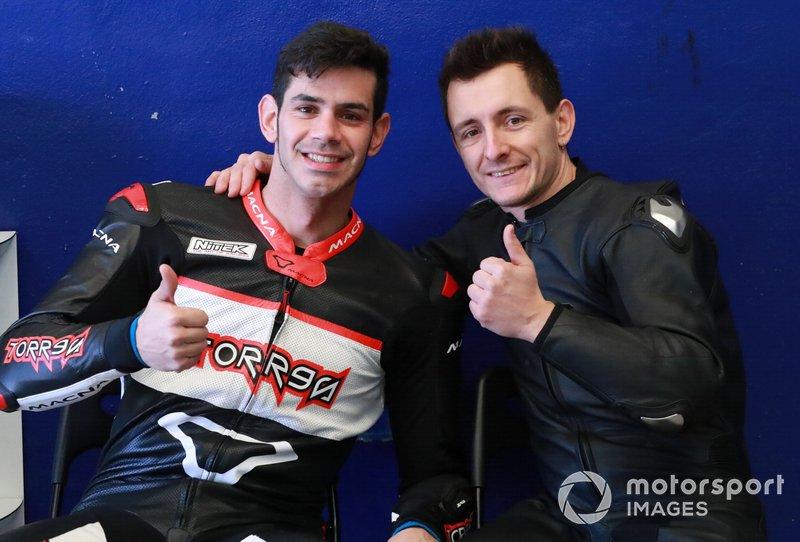 #81 Team Pedercini: Jordi Torres, #86 Team Pedercini: Ayrton Badovini