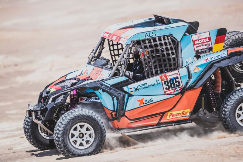 #385 SxS Racing4Charity-Team Face ALS: Аннетт Фішер, Андреа Петрансель