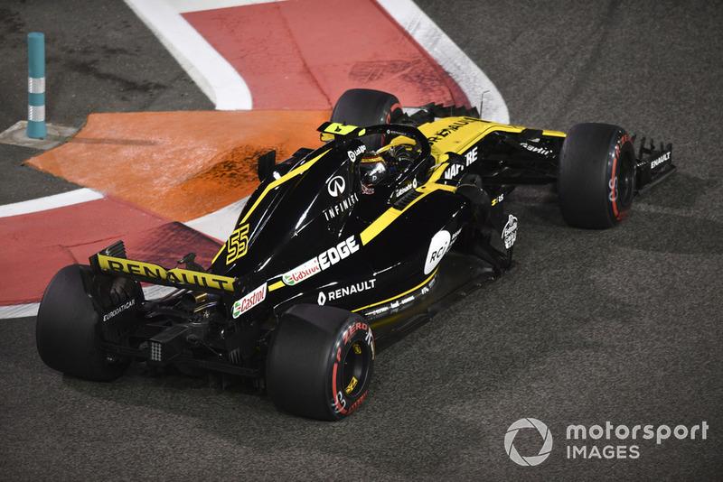 11: Карлос Сайнс, Renault Sport F1 Team R.S. 18 – 1:36.982
