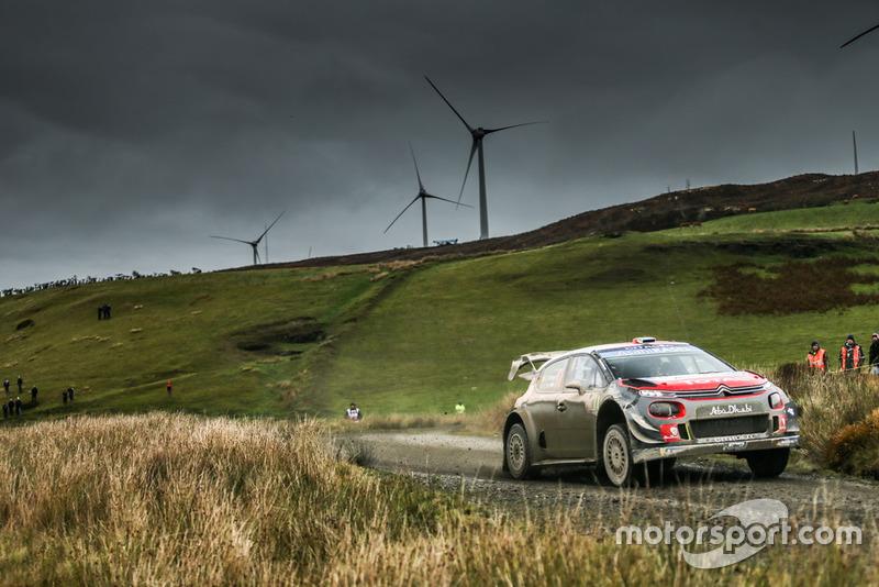 Craig Breen, Scott Martin, Citroën World Rally Team Citroën C3 WRC VIALATTE Aurelien