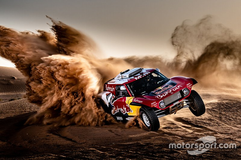 Sainz Peterhansel X-raid announcement