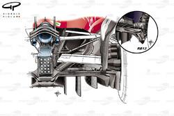Новий дифузор Ferrari SF70H на Гран Прі Абу-Дабі