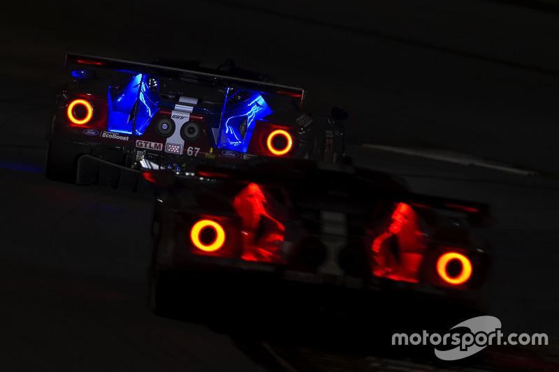 #67 Chip Ganassi Racing Ford GT, GTLM: Райан Бріско, Річард Вестбрук, Скотт Діксон, #66 Chip Ganassi Racing Ford GT, GTLM: Дірк Мюллер, Джоі Хенд, Себастьян Бурде