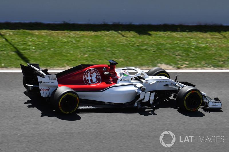 Антонио Джовинацци, Alfa Romeo Sauber C37