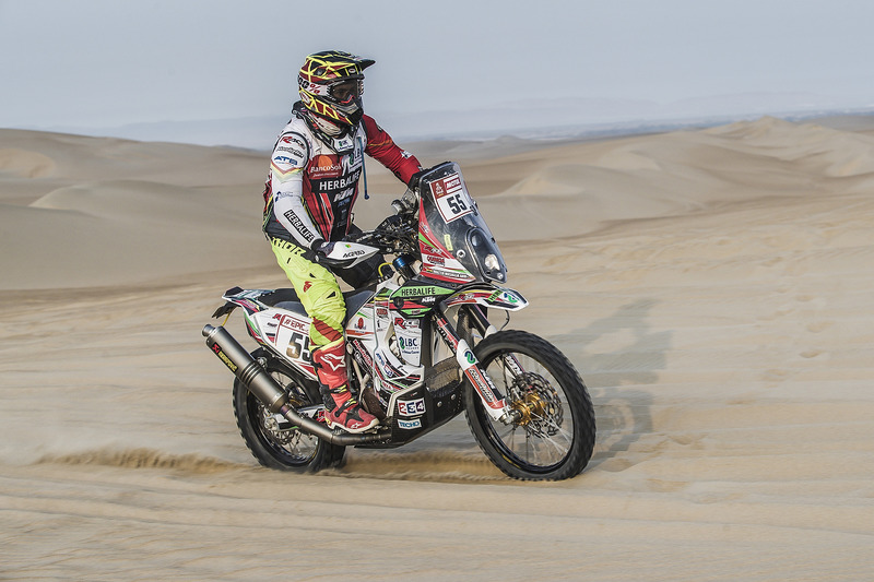 #55 HT Rally Raid Husqvarna Racing: Walter Nosiglia Jager