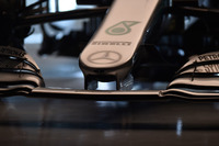Mercedes AMG F1 W09 burun detay