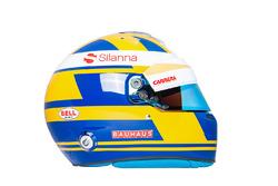 Helmet of Marcus Ericsson, Sauber