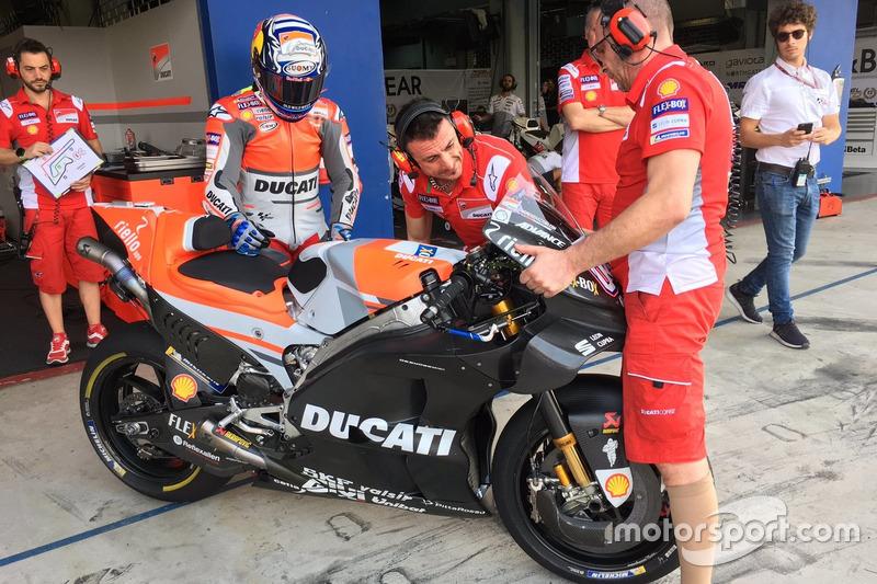 Andrea Dovizioso, Ducati Team, nuevo carenado