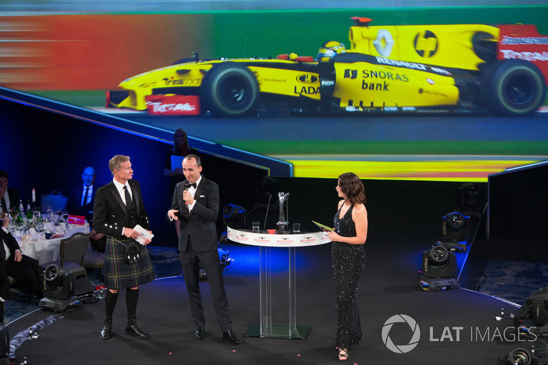 Robert Kubica ve David Coulthard, Lee McKenzie