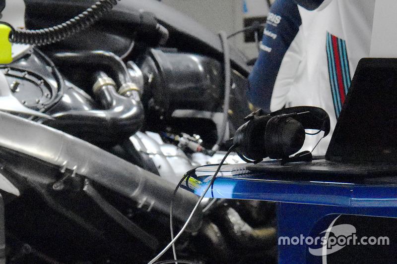 Силовая установка Mercedes на Williams FW41