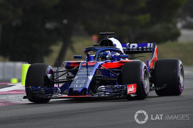 15 місце — Брендон Хартлі, Toro Rosso. Умовний бал — 6,15