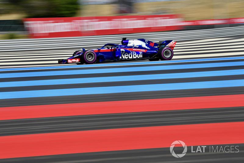 20. Brendon Hartley, Scuderia Toro Rosso STR13