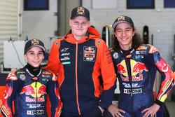 Deniz Öncü e Can Öncü, con Niklas Ajo, Red Bull KTM Ajo