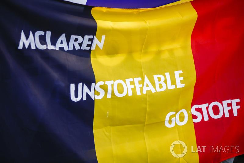 Stoffel Vandoorne, McLaren taraftarları