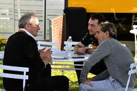 Jerome Stoll, Director de Renault Sport F1 y Alain Prost, Asesor especial de Renault Sport F1 Team