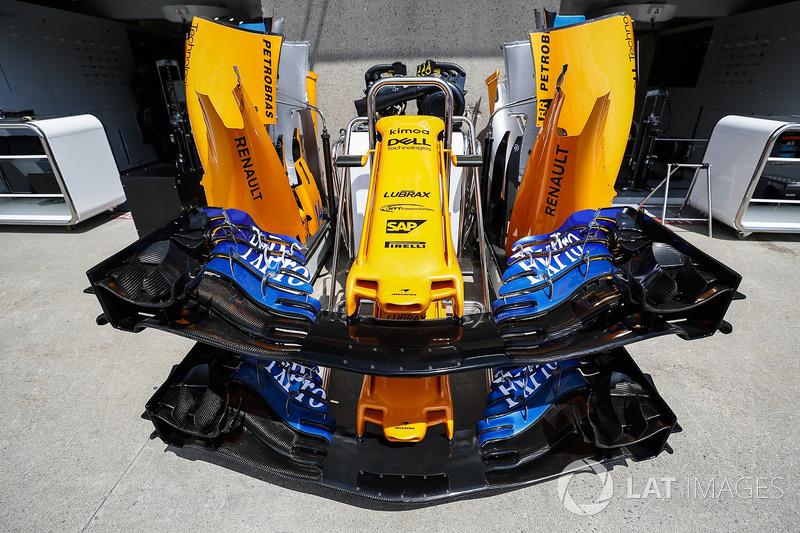 McLaren MCL33 nariz y alerones