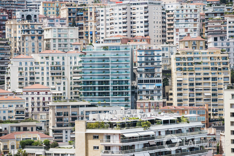 Des bâtiments à Monaco