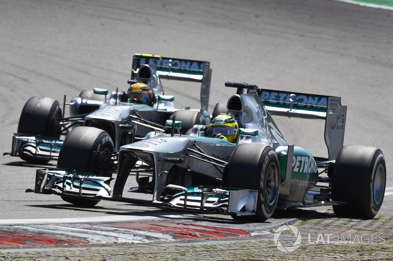 5: Lewis Hamilton & Nico Rosberg (Mercedes)