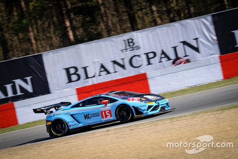 #15 Boutsen Ginion Lamborghini Gallardo R-EX: Claude-Yves Gosselin, Pierre Feligioni