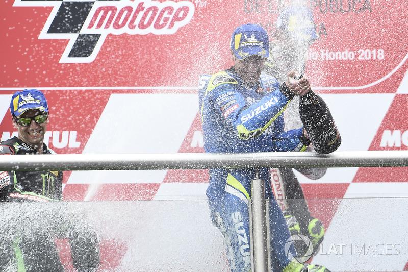 Third place Alex Rins, Team Suzuki MotoGP