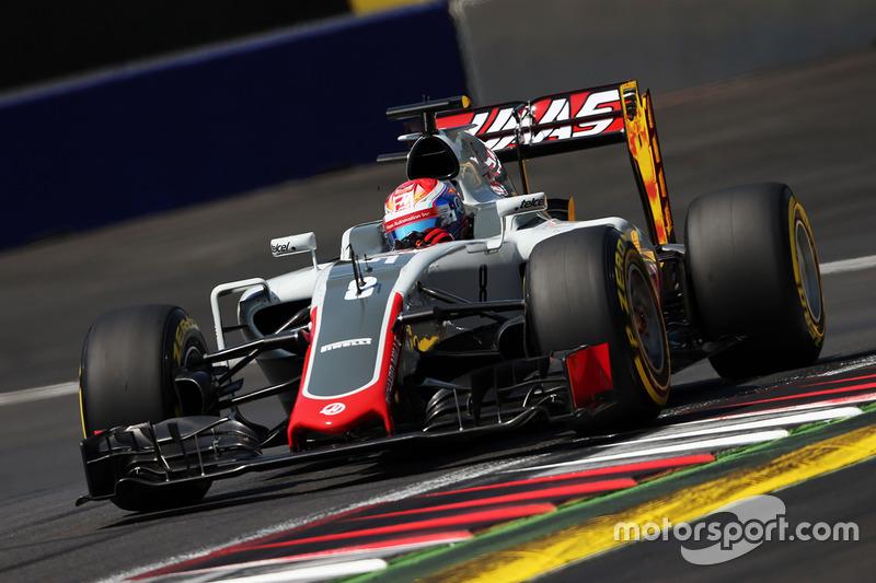 12: Romain Grosjean, Haas F1 Team VF-16