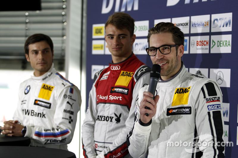 Press conference: Bruno Spengler, BMW Team MTEK; Nico Müller, Audi Sport Team Abt Sportsline; Maximi
