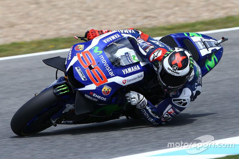Yamaha Factory Racing, Yamaha YZR-M1: Jorge Lorenzo