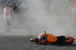Dani Pedrosa, Repsol Honda Team crash