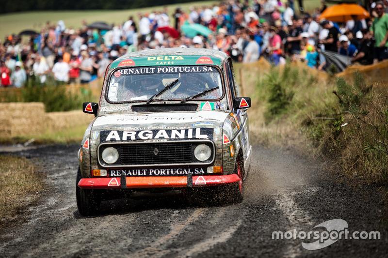 Historischer Rallye-Renault